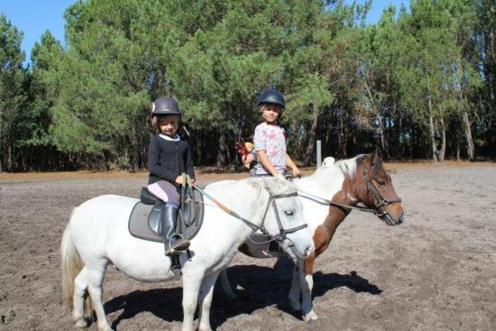 Initiation à l'équitation