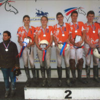 Cadets elites et poussins n4 Vice-champions de France Horse-ball 2013