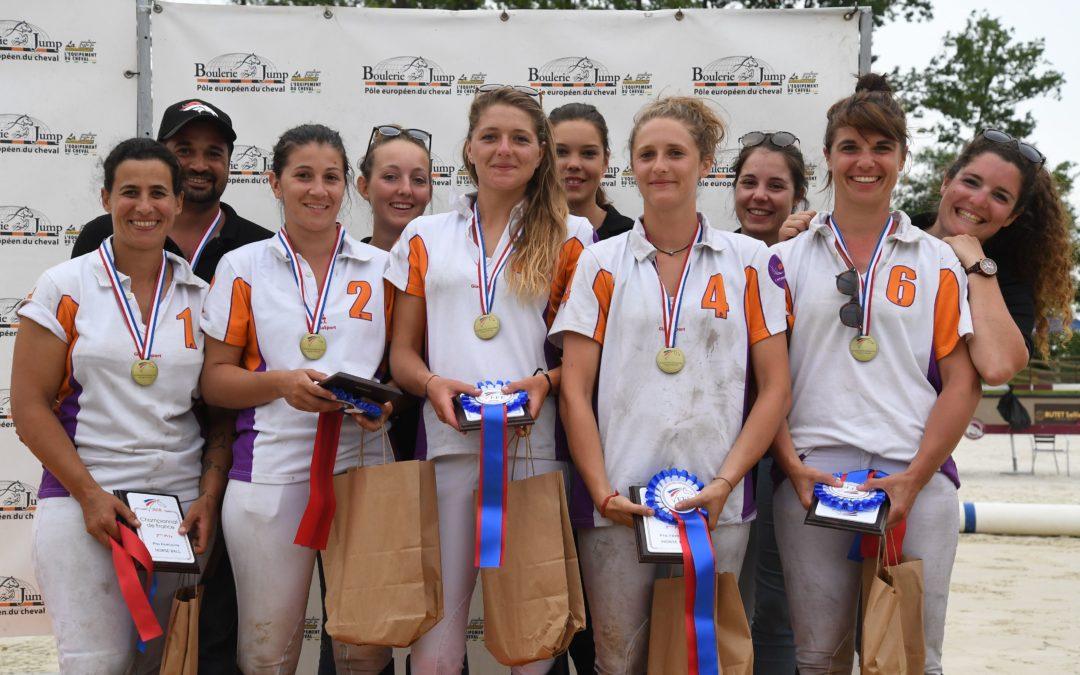PRO FEMININES : Médaille de Bronze aux championnats de France au Mans