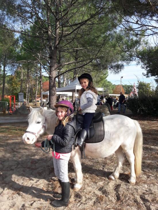 La Berle en fête Nov 2018 Baptême poney