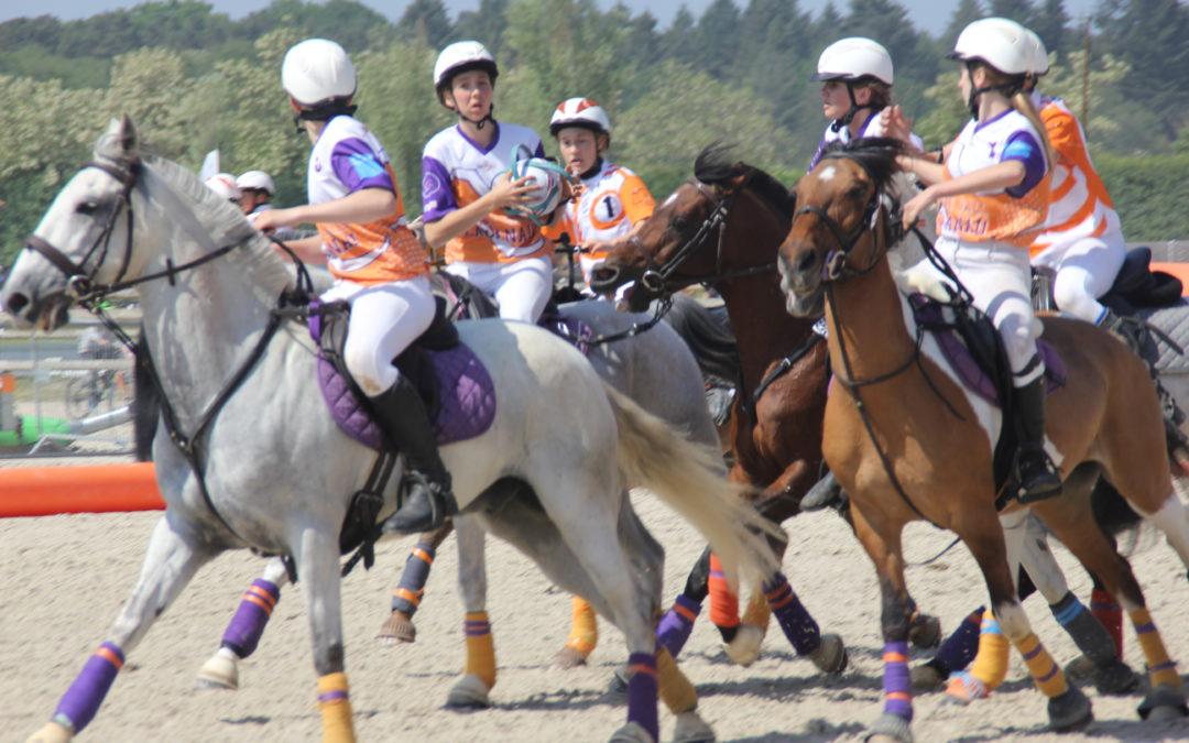 Championnats de France de Horse-ball : Cadets 5ème